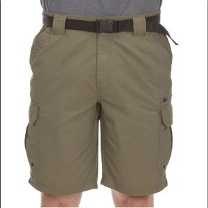 COLEMAN Khaki Quick Dry Cargo Shorts NWT
